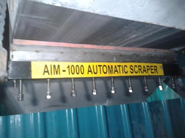 Automatic Cleaning Scrapper