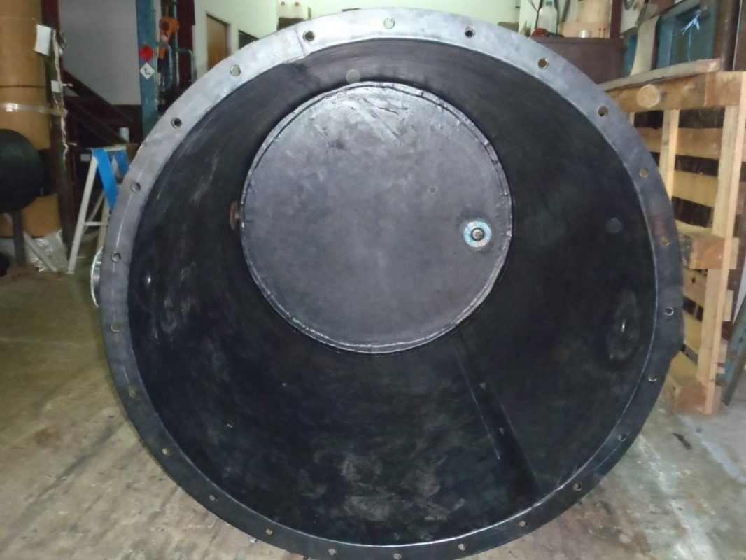 Chemical & Water Treatment Tank Rubber Lining